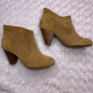 Jessica Simpson Leather Booties 8.5